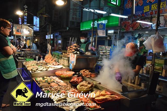 Taiwan, Night market de Liouhe, Kaohsiung