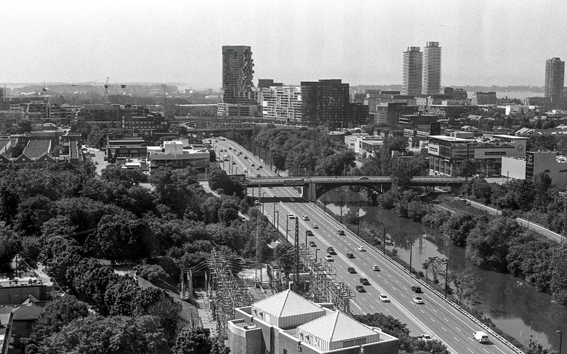 DVP Looking South of Top of Bridgepoint