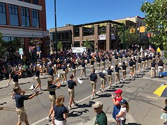 Cherry Fest 2018 Band from back