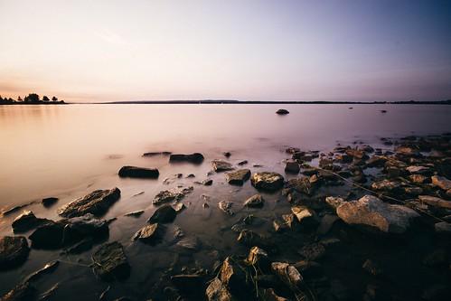 d7100 nikon longexposure river sunset ottawa