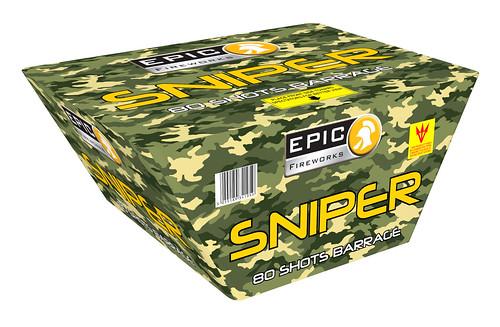 SNIPER 80 SHOT FAN BARRAGE #EpicFireworks