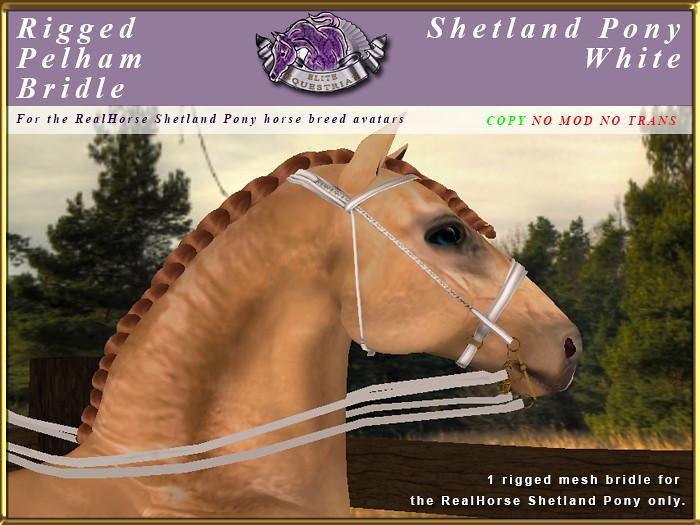 e-rh-Shetland-PelhamBridle-White - TeleportHub.com Live!