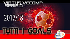 Virtus Vecomp - Tutti i gol 2017/2018.