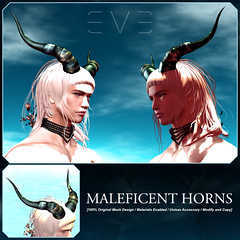 E.V.E Maleficent Horns
