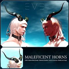 E.V.E Maleficent Horns
