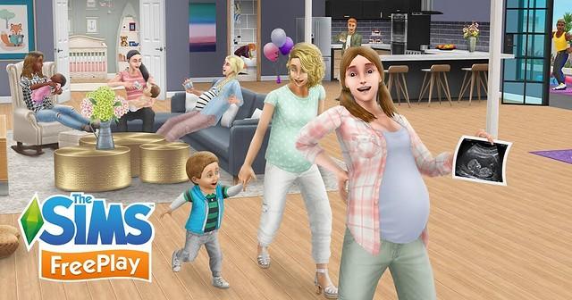 Atualização da Gravidez do The Sims FreePlay