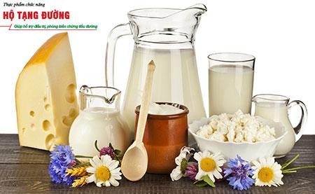 Người bệnh tiểu đường nên dùng sữa ít chất béo hoặc không có chất béo