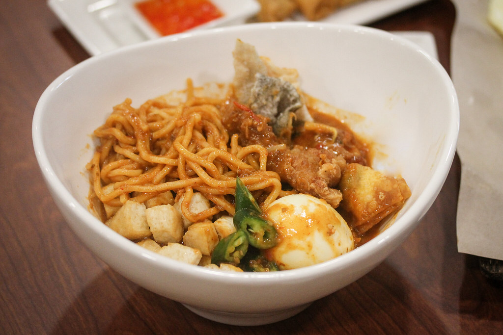 My Makan Place Mee Rebus Egg Noodle