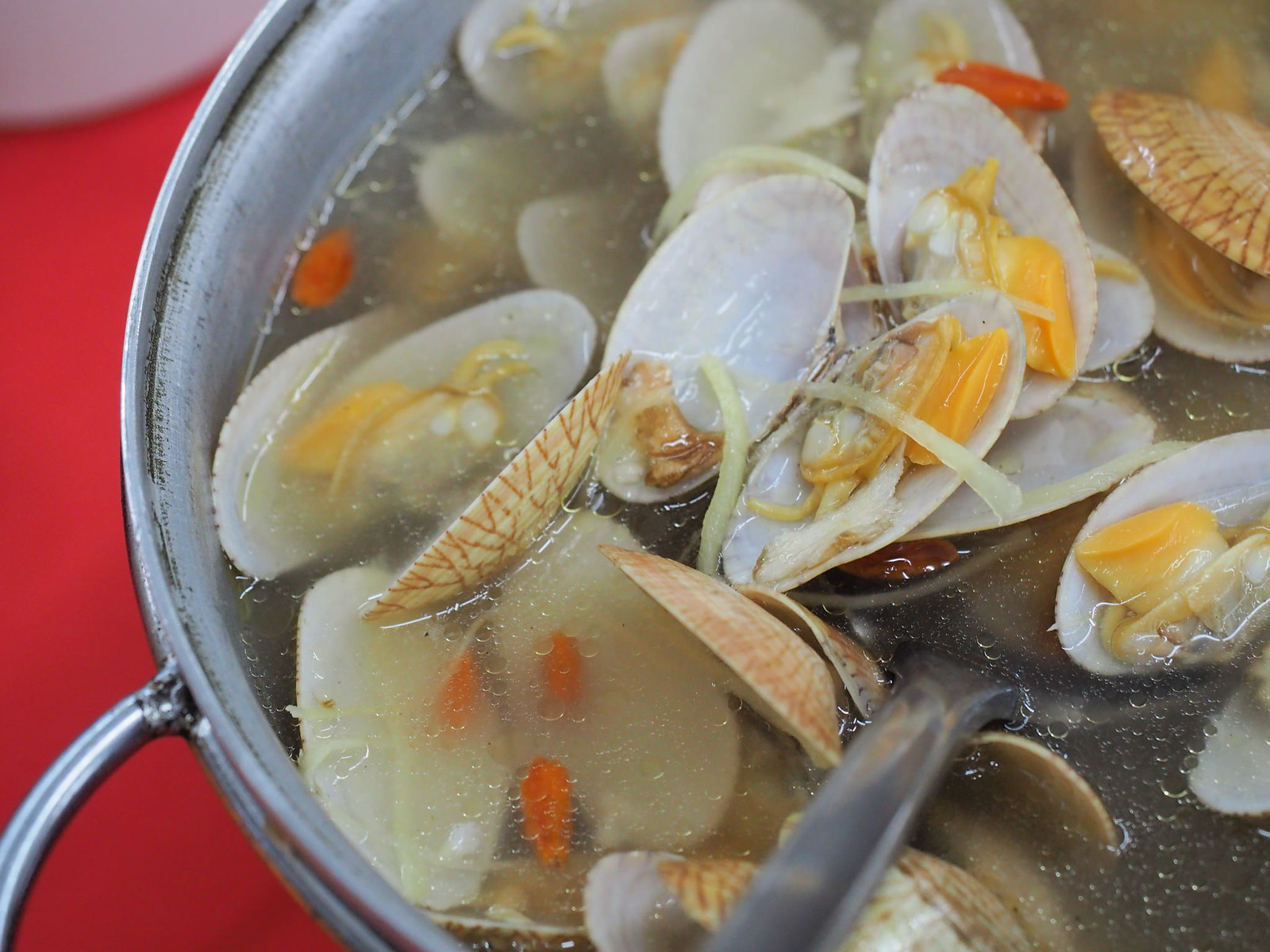 Lala Soup from Pangkor Village Seafood, Taman Megah