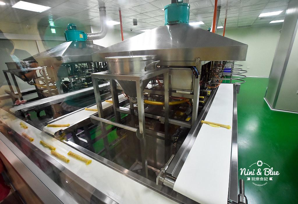 興麥蛋捲烘焙王國觀光工廠.線西景點18
