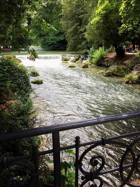 Im Englischen Garten (München)