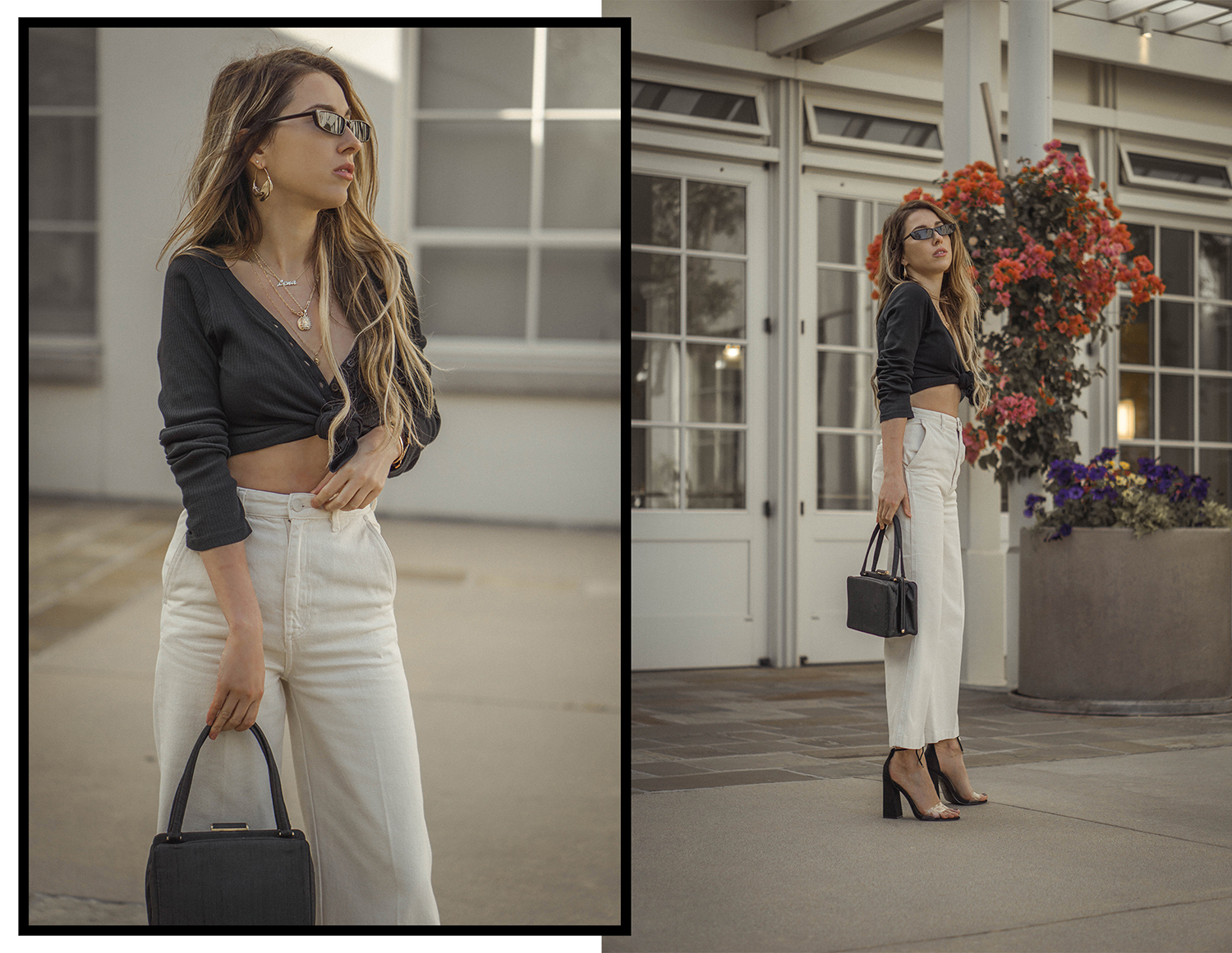 high_waisted_wide_white_jeans_clear_shoes_heels_street_style_outfit_fashion_blogger_vintage_lena_juice_the_white_ocean_07