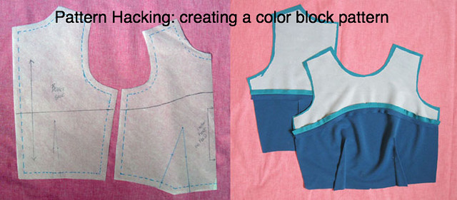 color block example