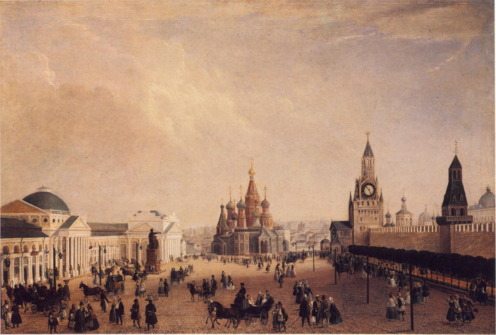 1820-е. Красная площадь