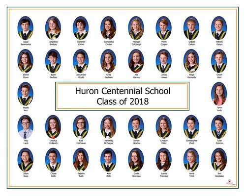 Huron Centennial Grad Comp