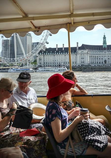 Boat trip to Kew