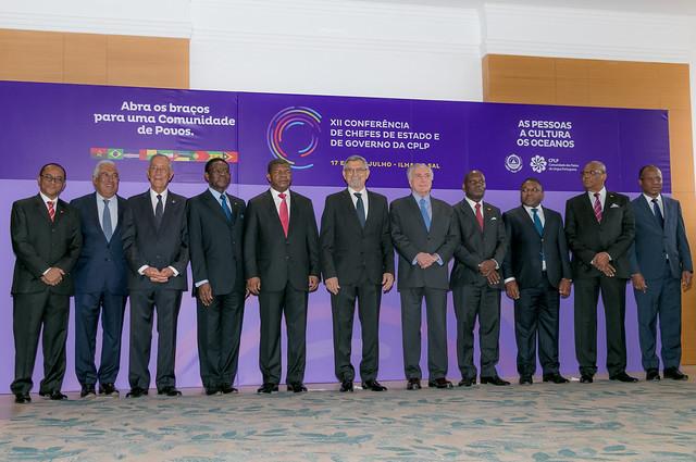 18.07. XII Conferência de Chefes de Estado e de Governo da CPLP