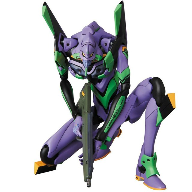 Go Berserk with the MAFEX EVA Unit-01 From Neon Genesis Evangelion!