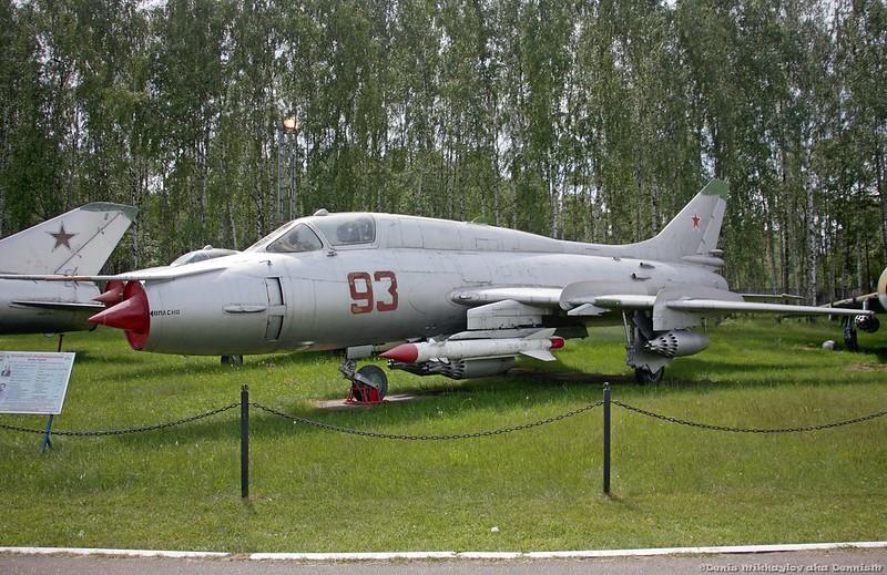 Истребитель-бомбардировщик Су-17М3