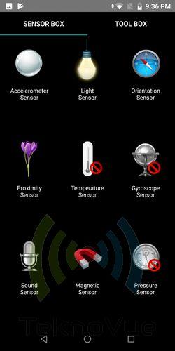 Asus Zenfone Max PRO M1 - Sensor Box