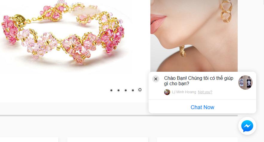 Hướng dẫn chèn Messenger Fanpage vào website (Chat messenger)