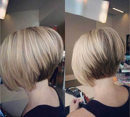 Classy Short Bob Haircuts 2018 For Women -Whatever shape your face? 4