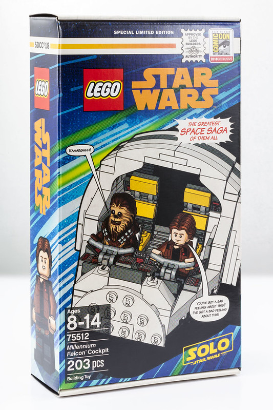 LEGO Star Wars 75512 SDCC 2018 Millennium Falcon Cockpit