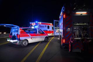 Verkehrsunfall A643 Schiersteiner Brücke 08.07.18