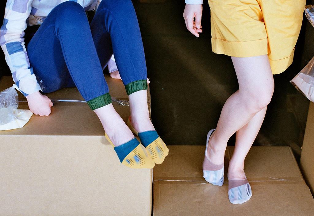 白帶魚 船襪-1
