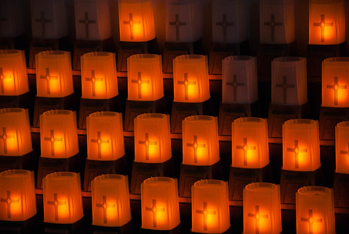 Candles in Sanctuary