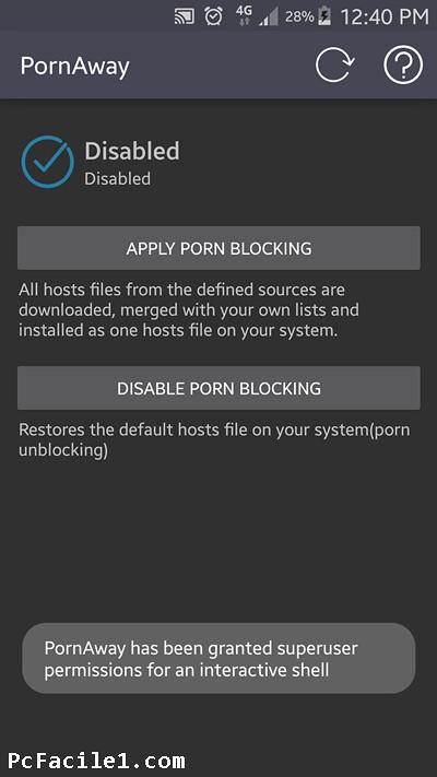 طريقة حظر المواقع الإباحية في هواتف أندرويد