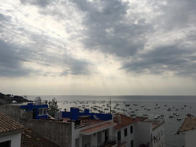 friday, midsummer's eve, the view, mediterranean sea, calella de palafrugell