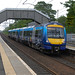Scotrail 170407 BTP livery 2N52 14:41 Alloa to Glasgow Queen Street