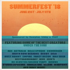 Summerfest '18 Featured Poster