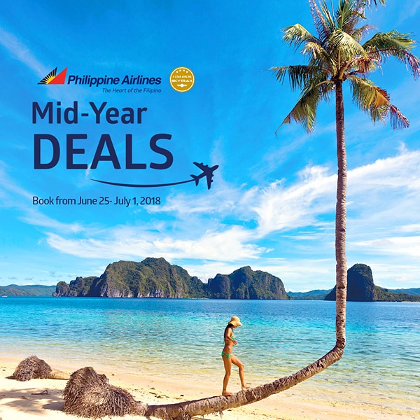 Mid-Year Deals Philippine Airlines 2018