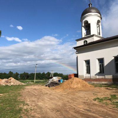 Прихожане храма Архангела Михаила в Станиславле провели летний лагерь выходного дня