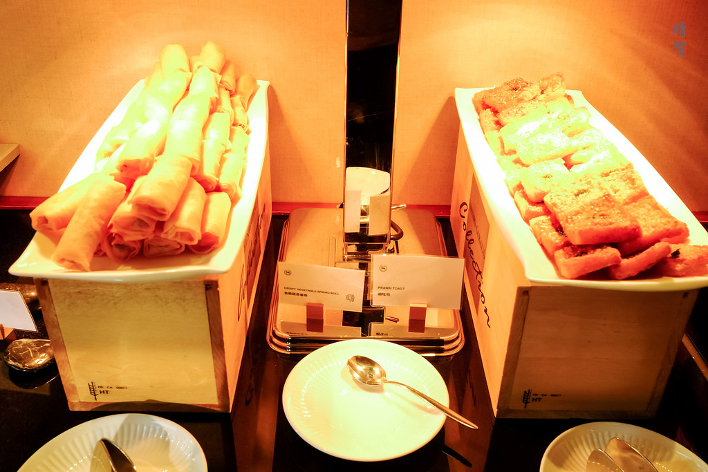 Spring roll and prawn toast