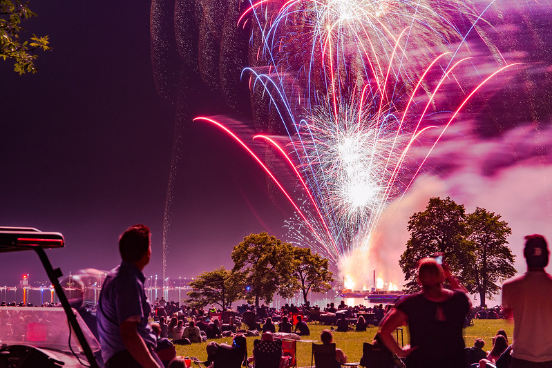 July 4th-Eve Fireworks