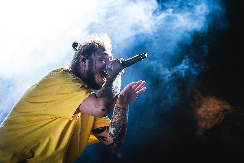 Post Malone @ Rock Werchter 2018 (Jan Van den Bulck)