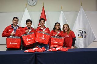 El pasado viernes 6 de julio, se realizó la despedida de 18 jóvenes del programa La Compañía de Junior Achievement que ganaron el viaje para representar al Perú en el JA Global Youth Forum en México.