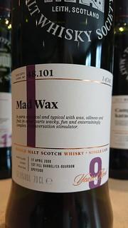 SMWS 48.101 - Mad Wax
