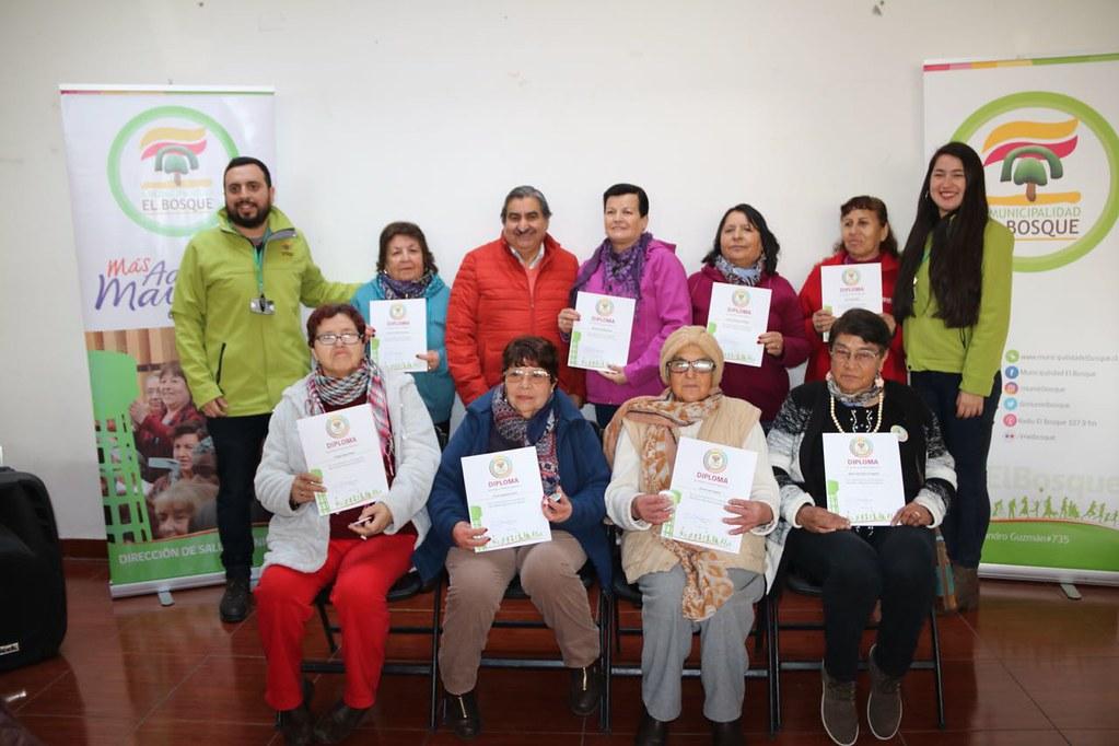Programa MAS Adulto Mayor Autovalente Villa El Cardenal