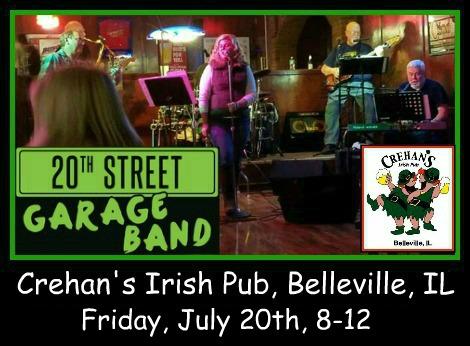 20th Street Garage Band 7-20-18