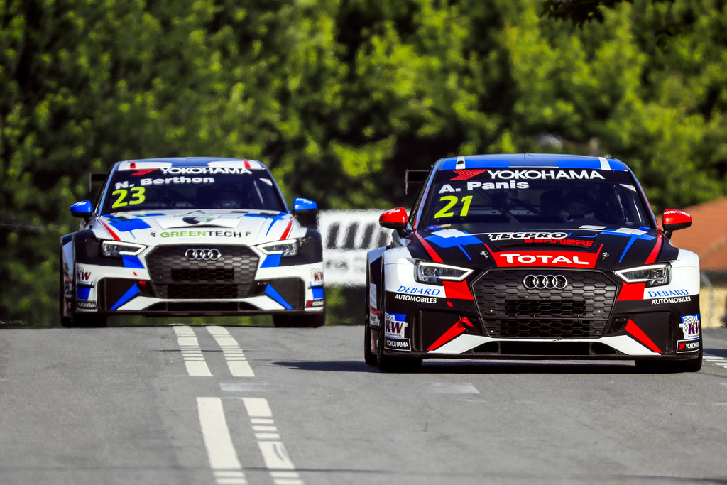 21 PANIS Aurelien, (fra), Audi RS3 LMS TCR team Comtoyou Racing, action, during the 2018 FIA WTCR World Touring Car cup of Portugal, Vila Real from june 22 to 24 - Photo Paulo Maria / DPPI