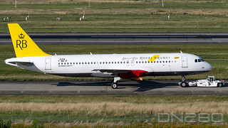 Royal Brunai A320-251N smn 8368