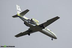 G-FJET - 550-0419 - London Executive Aviation - Cessna 550 Citation II - Luton M1 J10, Bedfordshire - 2018 - Steven Gray - IMG_6671