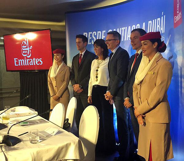 Emirates lanzamiento ruta SCL (Emirates)