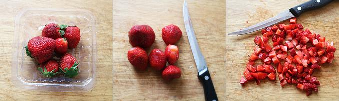 How to make strawberry fool recipe - Step1