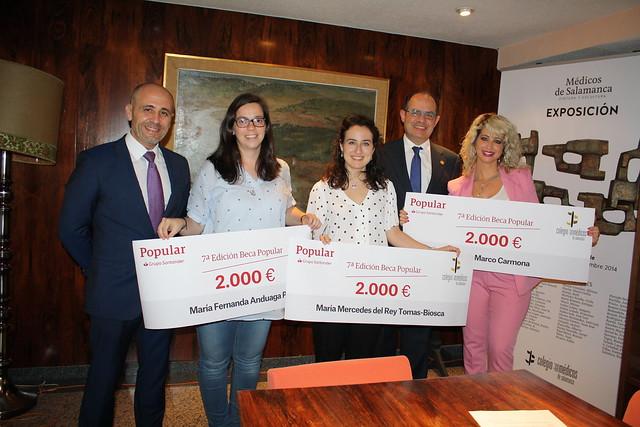 Entrega VII Becas de Formación COMSAL-Banco Popular