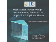 University of Vienna PhD Fellowships Physics Austria 2018 UPDATED